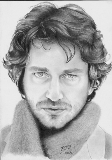 Gerard Butler by peggy